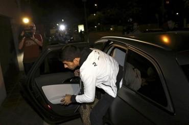 Luis Suárez llegó a Barcelona