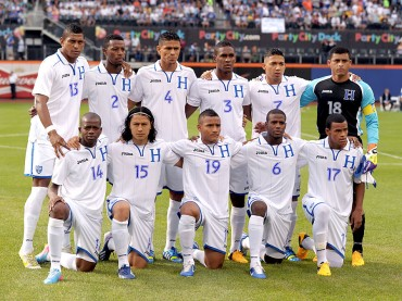 Honduras amanece en el puesto 40 en ránking FIFA