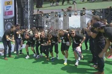 Alemania se burlan de Argentina con un baile polémico