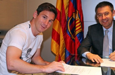 "Josep M. Bartomeu: ""Messi es intransferible"""