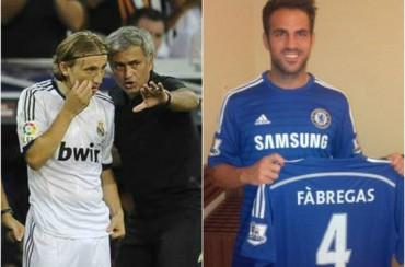 """Mou: """"Antes de fichar a Cesc llamé a Modric, pero es feliz en el Madrid"""""""