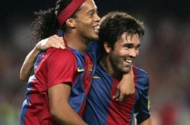 Ronaldinho no podrá estar en el homenaje a Deco