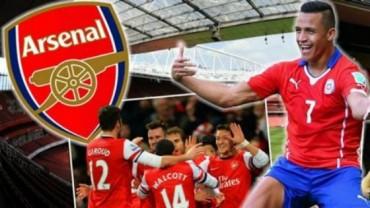 Alexis ficha por el Arsenal, que paga 34,6 millones de euros