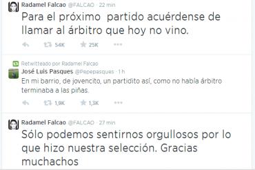 Agridulce reacción de Radamel Falcao tras eliminación de Colombia