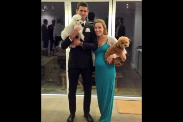 Novak Djokovic se casó en Montenegro