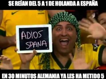 ¡Qué pena! Memes Brasil-Alemania