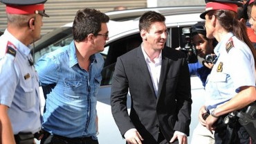 Messi, a juicio oral