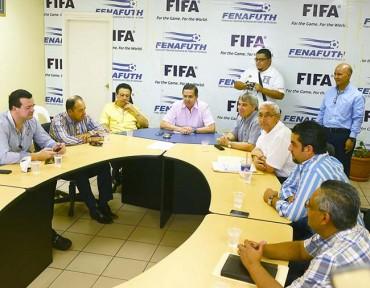 """Fenafuth con un millón les """"bajó el gas"""" a equipos de Liga Nacional"""