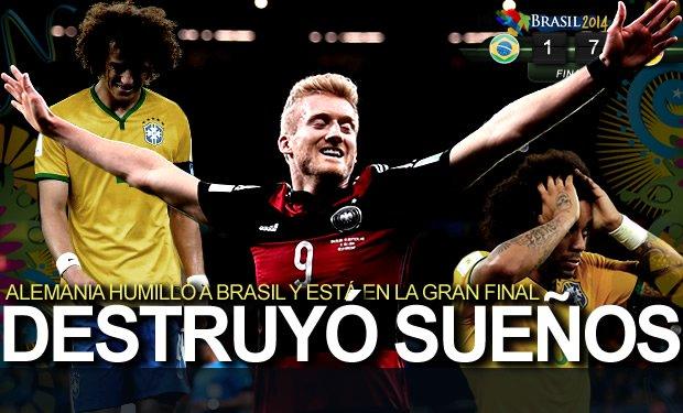Alemania construyó nueva humillación brasileña
