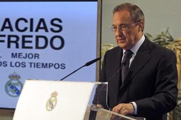 Florentino Pérez agradeció apoyo por muerte de Di Stéfano