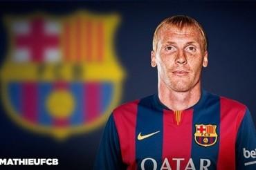 Jeremy Mathieu, nuevo defensa del Barcelona
