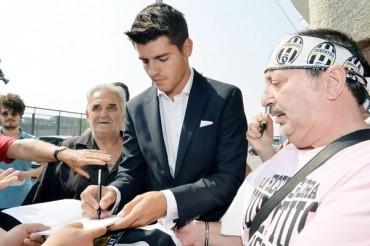 Juventus presentó oficialmente a Álvaro Morata