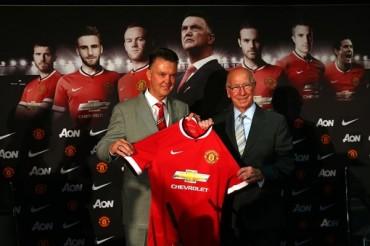 Louis Van Gaal llegó al Manchester United