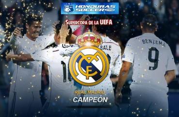 El Madrid gana fácil la Supercopa de Europa