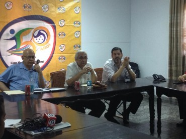 Jorge Alarcón presentará un plan de trabajo a la Liga Nacional