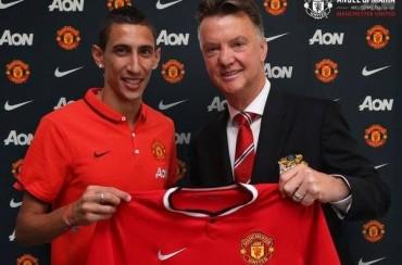 Oficial: Di María ya es del United por 75 millones; firma 5 años