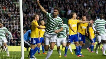 Sin Emilio Izaguirre, el Celtic perdió su invicto