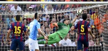 Primera derrota del Barça en pretemporada