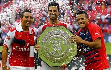 El Arsenal barre al City en la Community Shield