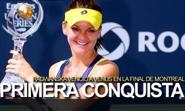 Radwanska venció a Venus y conquistó Montreal