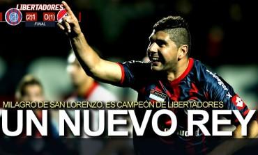San Lorenzo, Campeón por primera vez en Libertadores