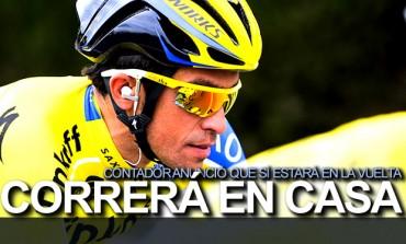 Alberto Contador sí correrá la Vuelta a España