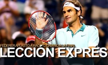 Federer buscará el título 80 de su carrera en Cincinnati