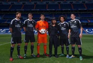 Presentación de la nueva equipación del Real Madrid