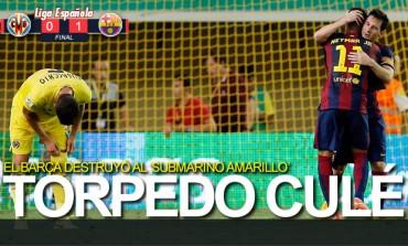 Barcelona destruyo al submarino amarillo del Villarreal