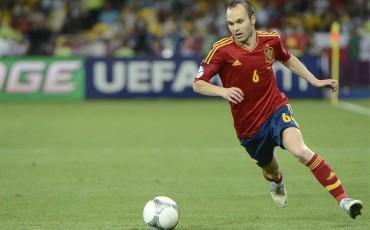 Andrés Iniesta no se planteó renunciar a la Selección Española