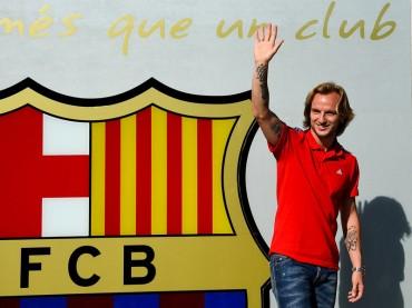 "Rakitic: ""Doy gracias a Dios por poder jugar con Messi"""