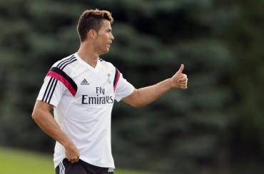 Cristiano Ronaldo, listo para debutar
