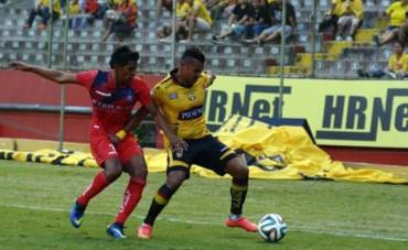 Mario Martínez estuvo en el empate del Barcelona de Ecuador