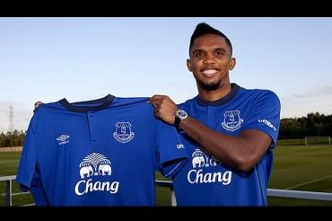 Eto'o reforzará al Everton los próximos dos años