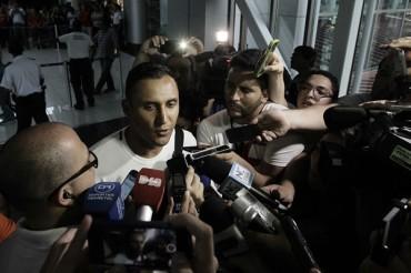 """Keylor Navas ya está en Madrid: """"He venido aquí a aprender"""""""