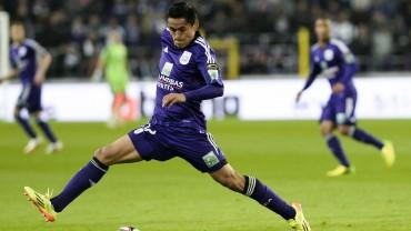 Andy Najar ha iniciado la liga de Bélgica imparable
