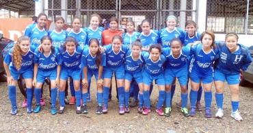 La Sub-15 femenina de Honduras por el pase a la final ante Haiti