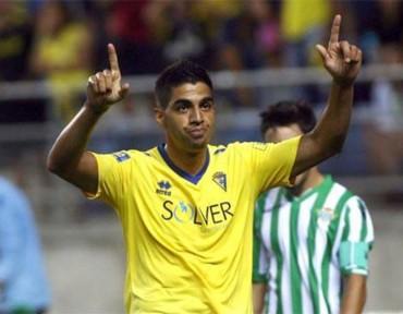 Jonathan Mejía ha comenzado a hacer de la suyas con el Cádiz