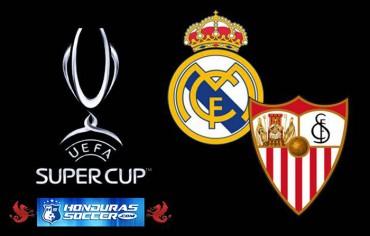El Real Madrid y el Sevilla disputan la Supercopa de Europa
