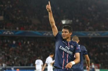 Thiago Silva un mes de baja