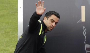 Xavi oficializa su retiro de la roja