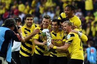 Borussia Dortmund, Campeón de la Supercopa alemana