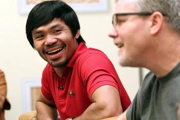 Pacquiao, elegido en Draft de basquetbol filipino