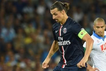 Zlatan Ibrahimovic sufrió rotura parcial de una costilla