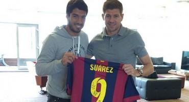 Luis Suárez se reencuentra en Liverpool con sus excompañeros