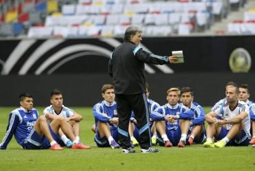 Argentina, sin Leo Messi,por la revancha ante Alemania