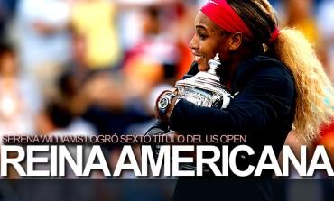 Serena se coronó reina del US Open por sexta vez