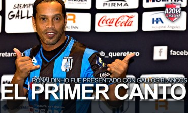 """Ronaldinho: """"Quiero ganar algo en México"""""""