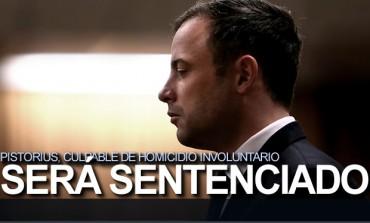 Pistorius, culpable de homicidio involuntario