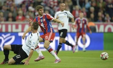 El Bayern le baja los  humos al Paderborn